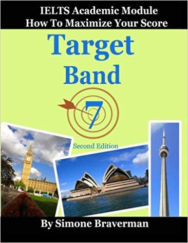 تصویر کتاب target band 7 از تکنیک های آزمون آیلتس